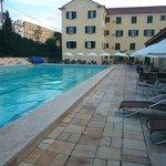 Área de Lazer e piscina