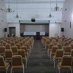 Salão para convenções e palestras