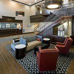 Inviting lobby at Hampton Inn Littleton