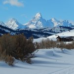 Breathtaking view of the Teton Mountains