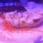 Dover sole fillets on boat (the boat was deep fried sole skeleton). Tried it last week - Excelle