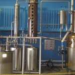secondard distilling area