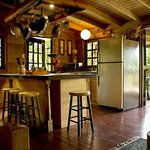 Amazing well done kitchen and terrace.