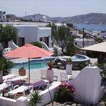 La Veranda Rooms and Pool area n Views
