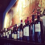 Huge wine list