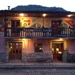 The Pisac Inn is even beautiful at night!