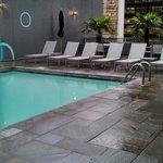 Cool Urban Pool Setting