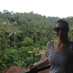 View from the Bali Spirit Hotel lobby