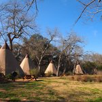 Teepees with A/C and queen beds!