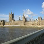 view of Houses of Parliament from Hotel