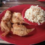 Large Shrimp with rice