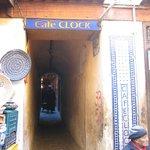 Cafe Clock entrance