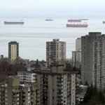 English Bay From Our 28th Floor Balcony!