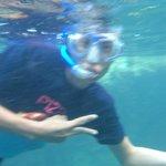 snorkel en el rio incluido