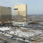 View of Borgata & The Water Club from our room
