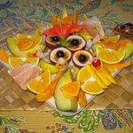 breakfast fruit tray