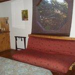 futon and window