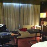 nice lounging area