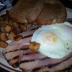yummy breakfast in one of the restaurant of the colorado belle. $5.99 special