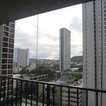 部屋からの景色(12階)