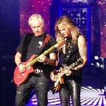 the rock guitar gods, Howard Leese & Doug Aldrich