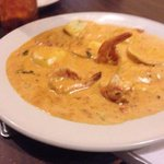 Lobster Ravioli with Shrimp