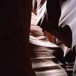 Antelope Canyon, late aftenoon