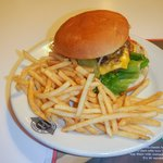 Steak 'n Shake Burger & Fries