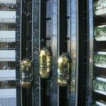 стеклянный лифт, капсулы)