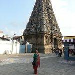 Eastern Gopuram view from inside