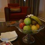 welcoming fruit basket