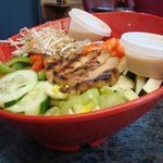 Oriental Chicken Salad - Volcano's Lava Rock Cafe, Volcano, Island of Hawaii, HI