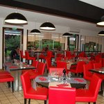 Restaurant of the Comfort Hotel Lons le Saunier