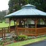 Gazeebo - Kilauea Lodge, Old Volano Road, Volcano, Island of Hawaii, HI
