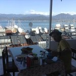 view of fethiye and beautiful breakfast
