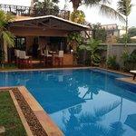 Pool/Bar towards dining.