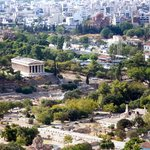 dall'acropoli col tempio