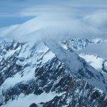 Het eindpunt: Mount Cook met loopings