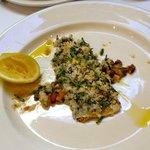 Sardine with gremolata
