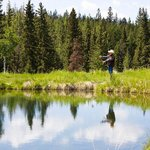 Fly-Fishing on the Ranch's private ponds