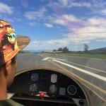 Solomon the glider pilot behind Al