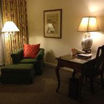 Executive Suite desk&reading corner