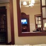 Blick zum TV