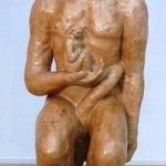 "A major new purchase- Beckmann sculpture ""Adam and Eve"""