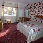 Double bed with double bed settee