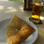Pancake and beer