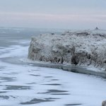 Lake Erie Frozen
