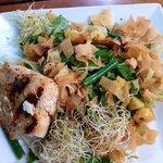 Yummy salads (Mahi Mahi salad)
