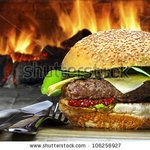 Handmade flame grilled burgers