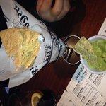 Nachos guacamole